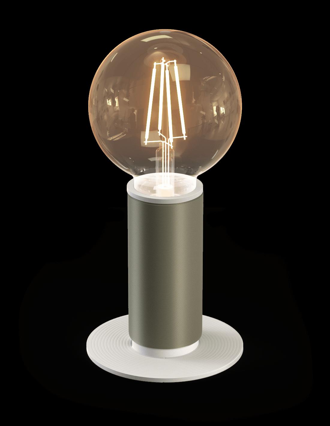 Cords Standaard Tafellamp Metallic green